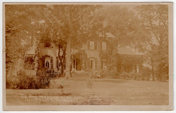 Hickory Hill in Essex, New York circa 1907 (photo by B. Benton Barker)