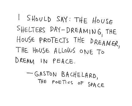 House of Dreams: Gaston Bachelard (Source: The Poetics of Space)