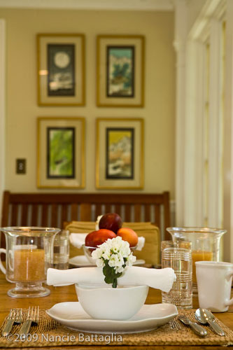 Rosslyn Breakfast Room (Credit: Nancie Battaglia)