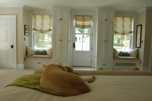 Rosslyn Master Bedroom, West Elevation (Credit: Nancie Battaglia)