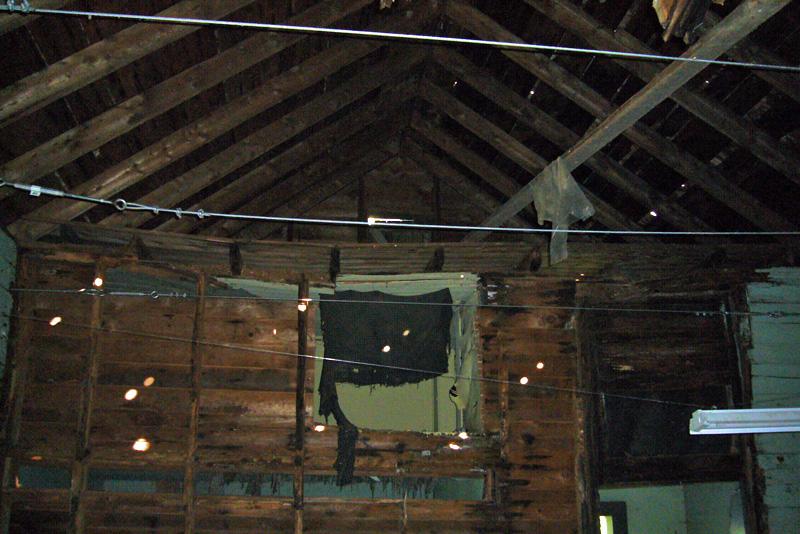 Ice House Demolition, autumn 2006