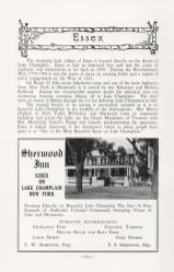 Feature on Essex, NY in 1949 Adirondack Guide. (Source: Adirondack Guide via David Brayden)