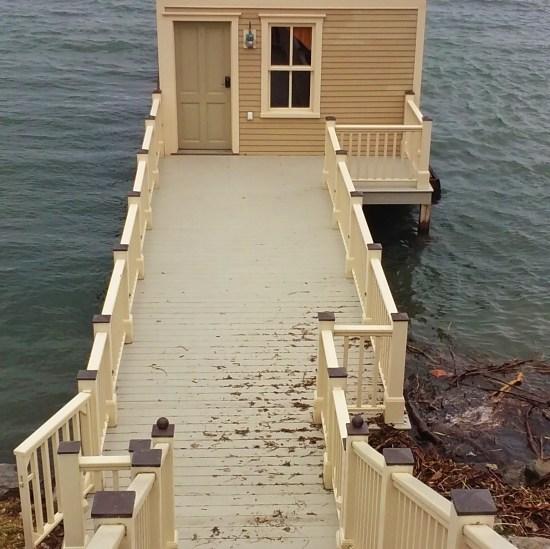 Lake Champlain Boathouse Blues (Source: Katie Shepard)