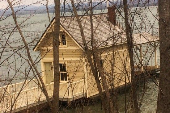 Lake Champlain Boathouse Blues (Source: Tom Duca)