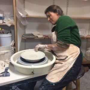 Craigardan Harvest Plate Resident, Catherine Seidenberg (Source: craigardan.org)
