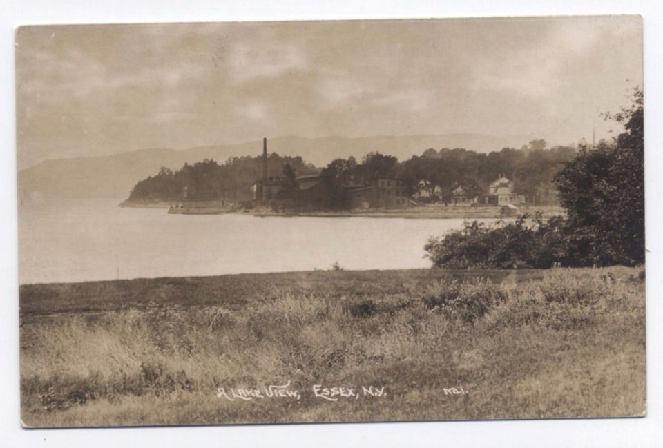 Industrial Waterfront, Essex on Lake Champlain, circa 1910