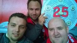 Rekordmeister - Feier 25. Meisterschaft