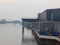 Verladedock der Deggendorfer Werft