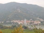 Dürnstein am anderen Donauufer
