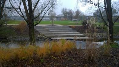 Die Treppe am Bogenbach
