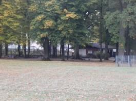 Das Minigolf-Stüberl im Stadtpark