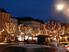 Der Luitpoldplatz leuchtet