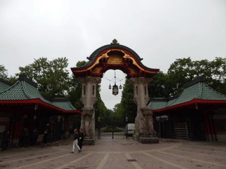 Zoo Berlin - Elefantentor