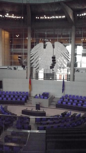 Plenarsaal des Bundestags