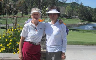 Karin Romak & Helen Choi sink holes-in-one on same day on Hole 10