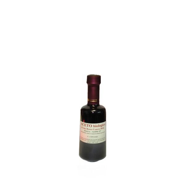 Aceto di Vino Rosso Conero Biologico Riserva