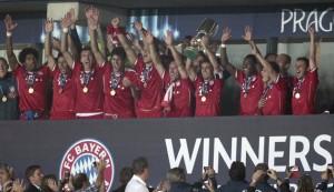 Il Bayern vince la Supercoppa