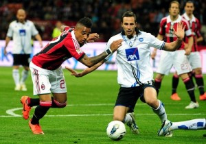 AC Milan's Ghanaian defender Prince Kevi