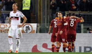 Roma - Milan 4-2