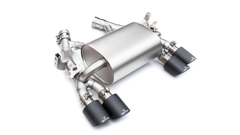 remus exhaust system bmw m3 m4 f8x