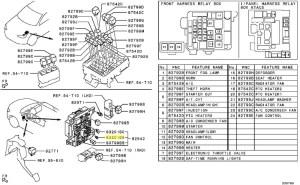Fuse Instrument Panel Wiring Evo X 75A Brown  Ross Sport Ltd