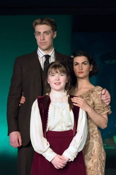 L to R Frankie Stornaiuolo as Scott, Charlotte Curtin as Scottie, Emily Dwyer as Zelda