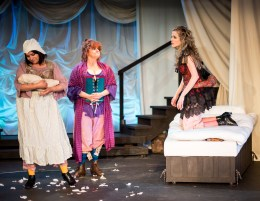 L-R - Amber Collins Crane as Moll Flanders