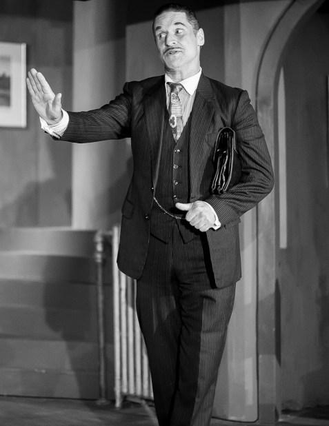 Robert Molossi as Mr. Paravicini