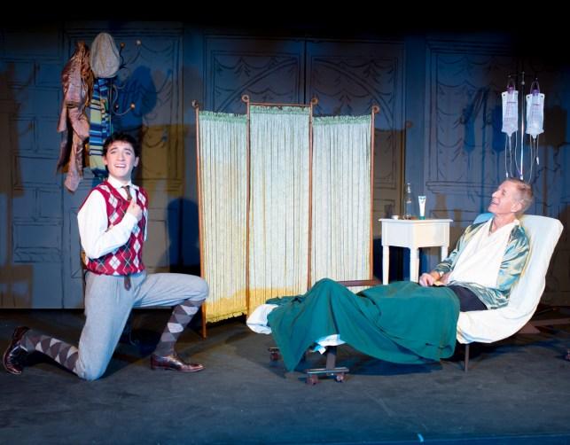 Alex Cook as Arpad Laszlo; Ron Dritz as Mr. Maraczek