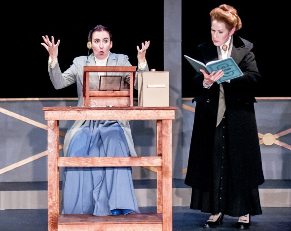 Isabelle Grimm as Henrietta Leavitt, Rachel Kayhan as Annie Cannon