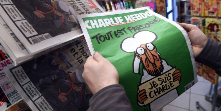FRANCE-ATTACKS-CHARLIE-HEBDO-MAGAZINE-NEWSAGENTS