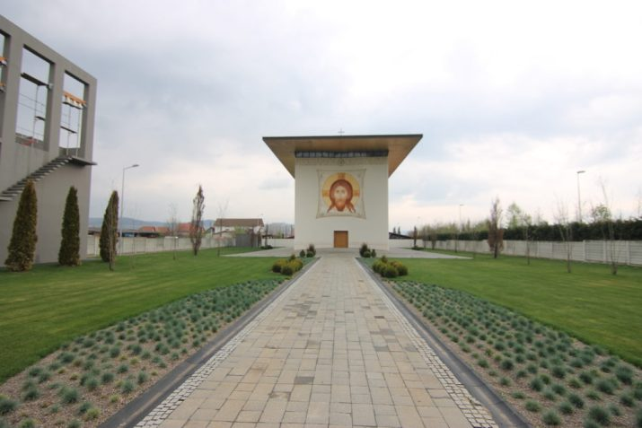 biserica din Alba exterior