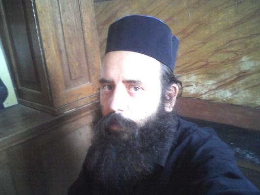 Marius Ianus - frate de manastire