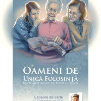 """Lansare de carte: """"Oameni de unică folosinţă"""", de Elena Ciolacu"""