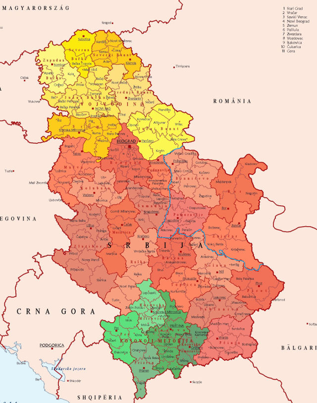 Vlăhismul – o teorie contrară unității teritoriale a Serbiei sau unde dai și unde crapă!