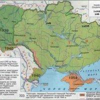 Teritoriile anexate Ucrainei și teritoriile restituite de către Ucraina (1921-1954)