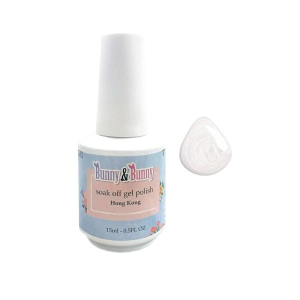 Bunny & Bunny Soak off gel Polish - Pearly White