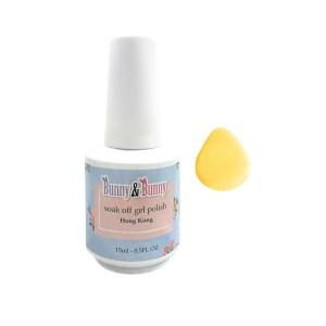 Bunny & Bunny Soak off gel Polish - Go Lemon