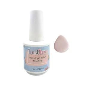 Bunny & Bunny Soak off gel Polish - French Pink Base