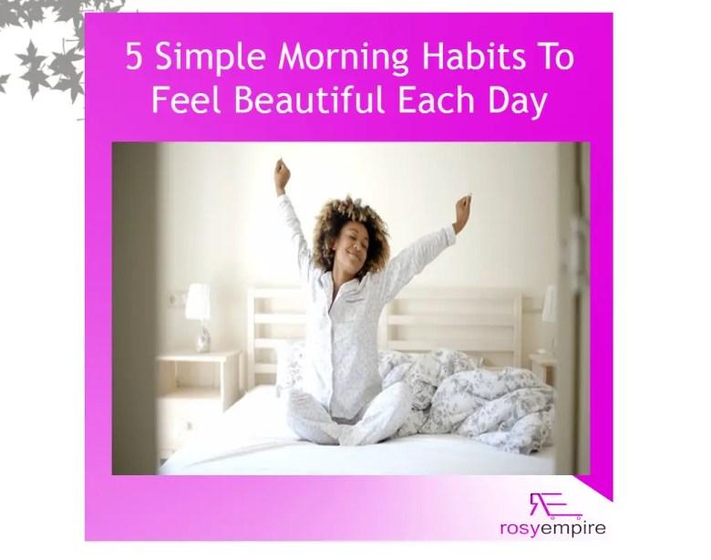 morning-habits-to-feel-beautiful