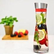 infused water pitcher for skin rejuvenation