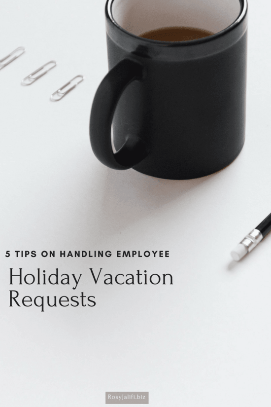 Employee Vacation Request