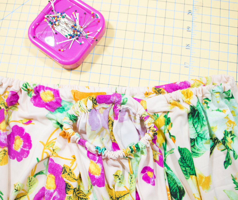 DIY Bare Shoulder Top TUTORIAL! - Rosy | Peña