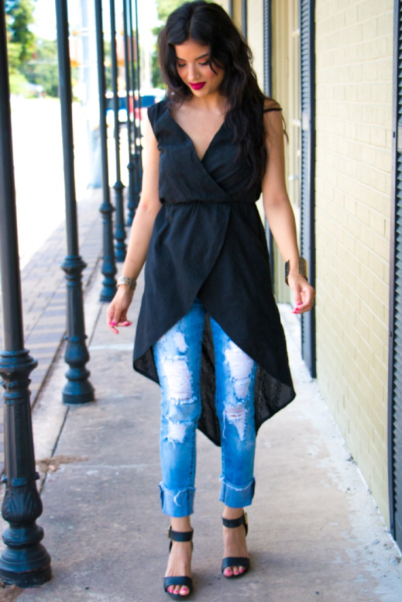 High-Low Tunic + Pattern Review - Rosy | Peña