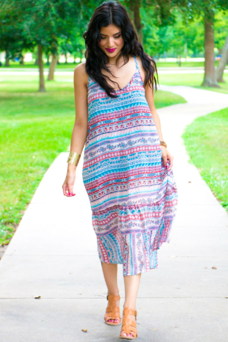 Casual Summer Dress + Pattern Review - Rosy   Peña