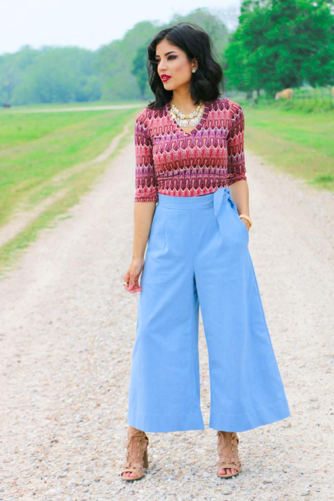 Megan Nielson: Flint Pants + Rowan Tee - ROSY | PENA
