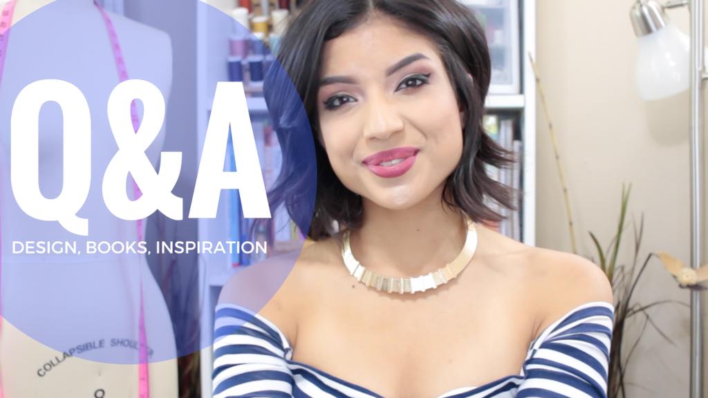 Q&A Video: Design, Books, Inspiration