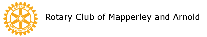 Rotary Club of Mapperley and Arnold Logo