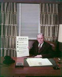 Rotarian Herbert J. Taylor