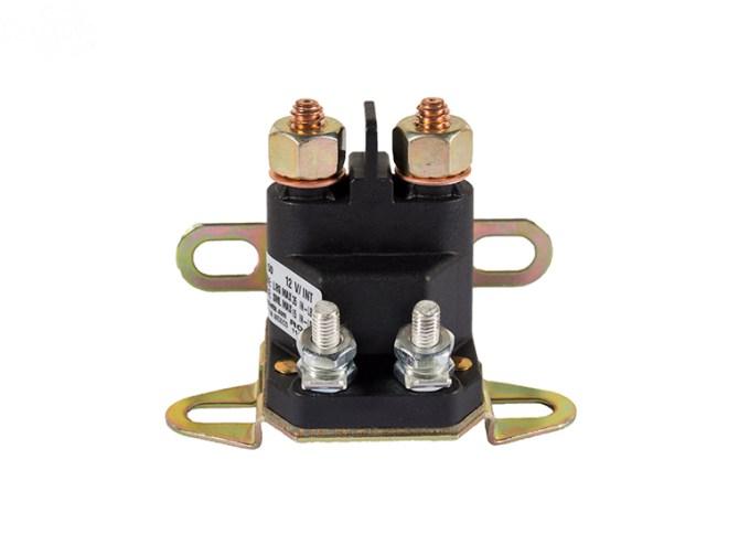 universal starter solenoid 4 pole 12 volt